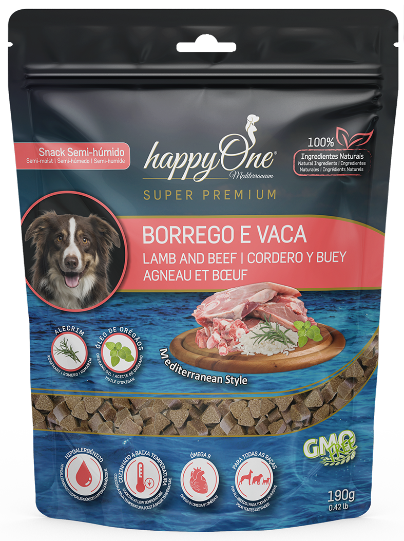 HappyOne Mediterraneum Snack Lamb and Beef 190 g