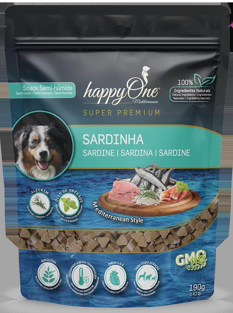 HappyOne Mediterraneum Snack Sardine 190 g
