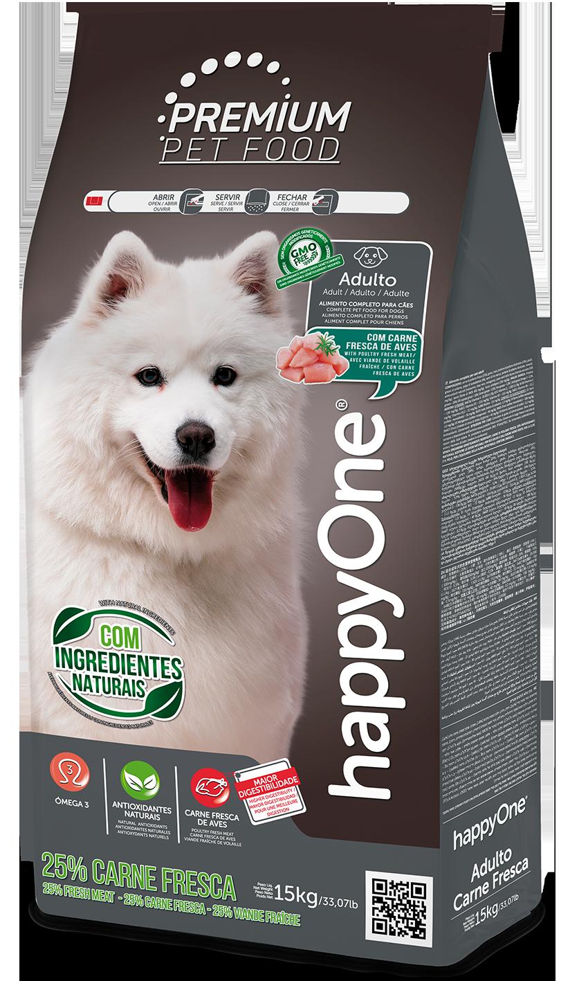 HappyOne Premium Adult Dog - Fresh Meat 15 kg( pro dospělé psy)