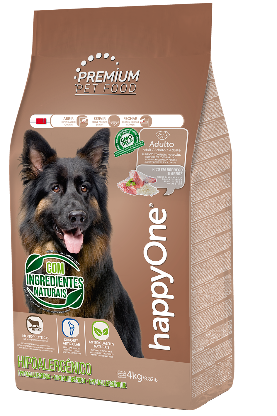 HappyOne Premium Adult Dog - Hypoallergenic 4 kg