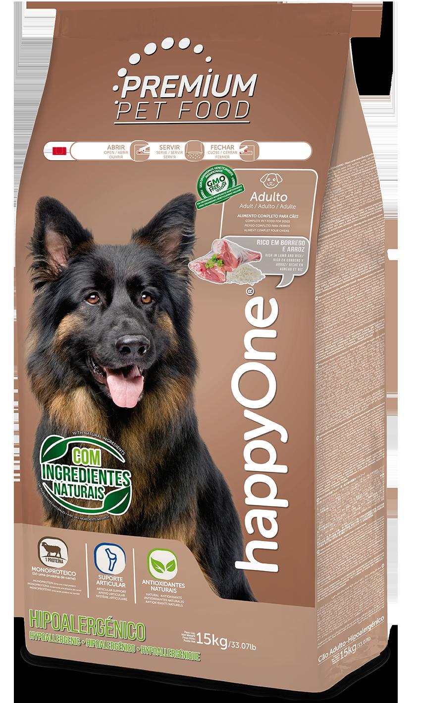 HappyOne Premium Adult Dog - Hypoallergenic 15 kg( pro dospělé psy - hypoalergenní)
