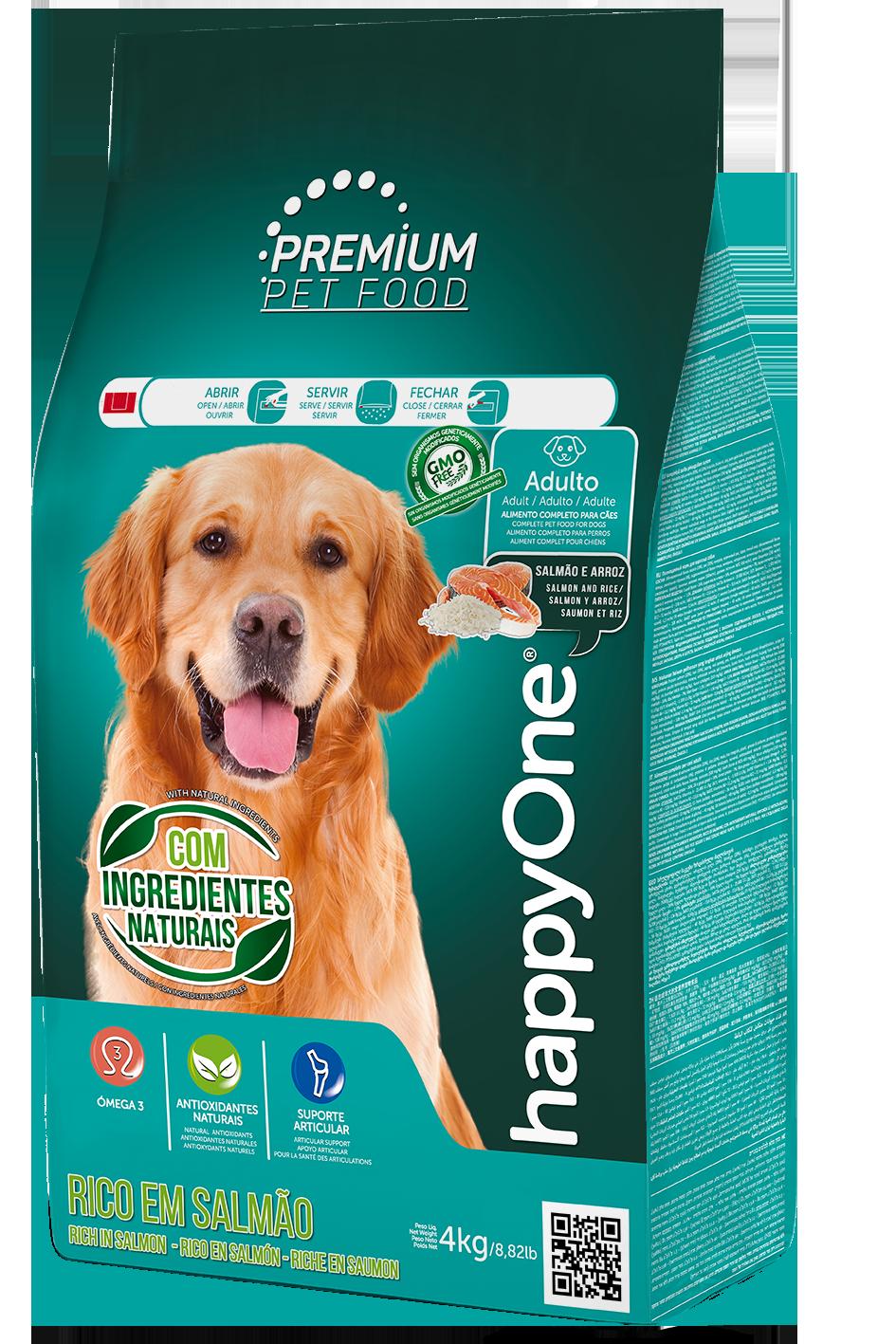 HappyOne Premium Adult Dog - Salmon and Rice 4 kg