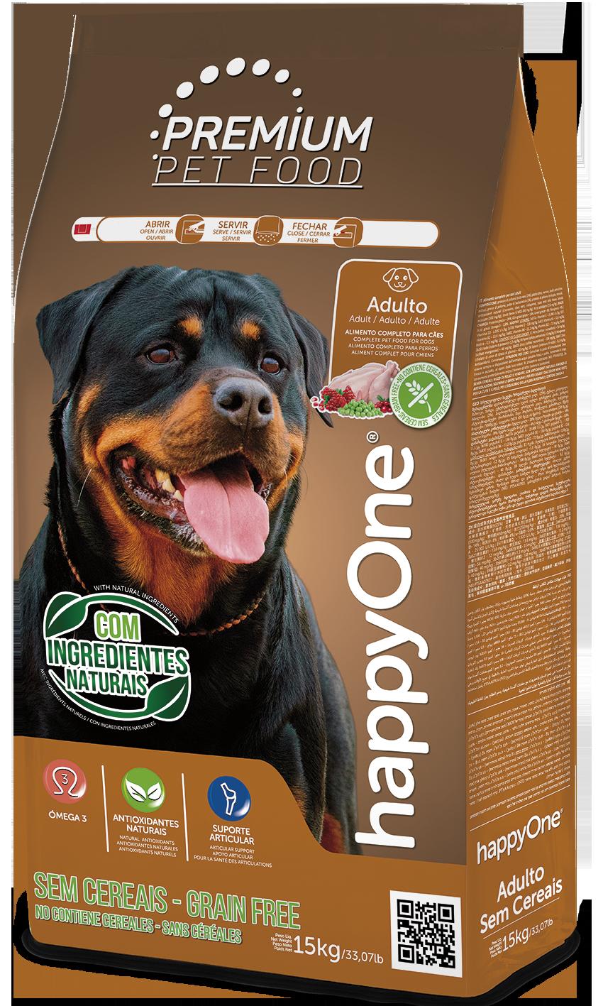 HappyOne Premium Adult Dog - Grain Free 15 kg( pro dospělé psy)